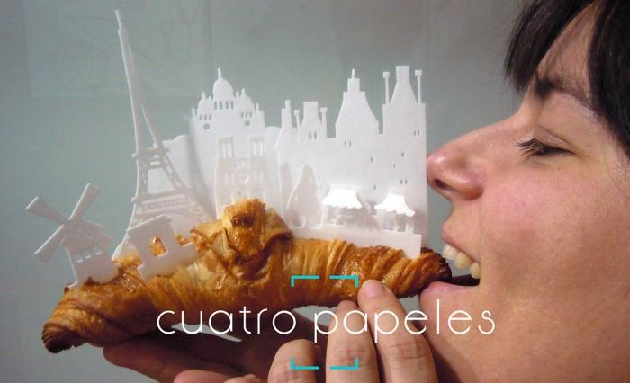 París en un croissant