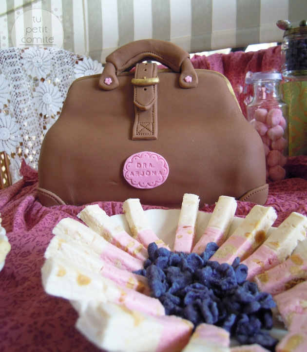 tarta y lilas