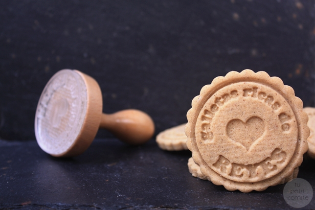 galleta de pie
